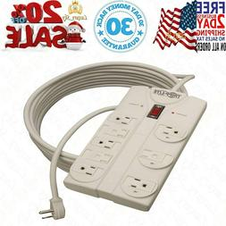 Tripp Lite 8 Outlet Surge Protector Power Strip 25ft Long Co