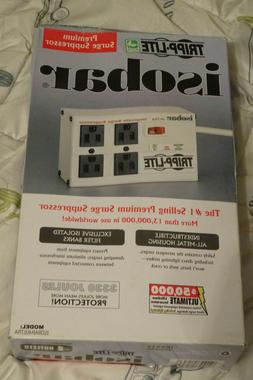 Tripp Lite Isobar 4 Outlet Surge Protector Power Strip 6ft C