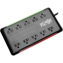 Tripp Lite Tlp1006b 10-Outlet Surge Protector Power Strip 6f