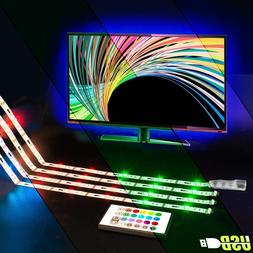 LED TV Backlight - Powered USB LED Strip Lights for 32 to 60