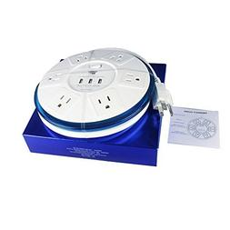 TP UFO 6-Outlet Power Strip Surge Protector  EMI RFI Filter