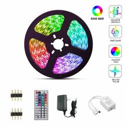 LED Strip Lights 16.4ft with with 44 Key IR Remote Controlle