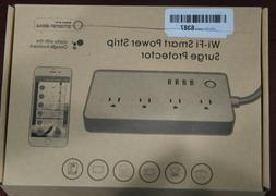 WI-FI SMART POWER STRIP SURGE PROTECTOR NEW IN BOX