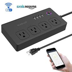 Smart Power Strip WiFi Surge Protector Works with Alexa, Goo
