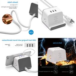 wireless charger power strip surge protector max