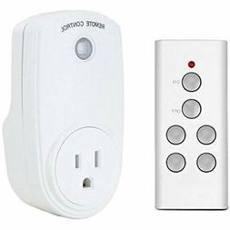 Finduat Wireless Remote Control Outlet Electrical Smart Swit